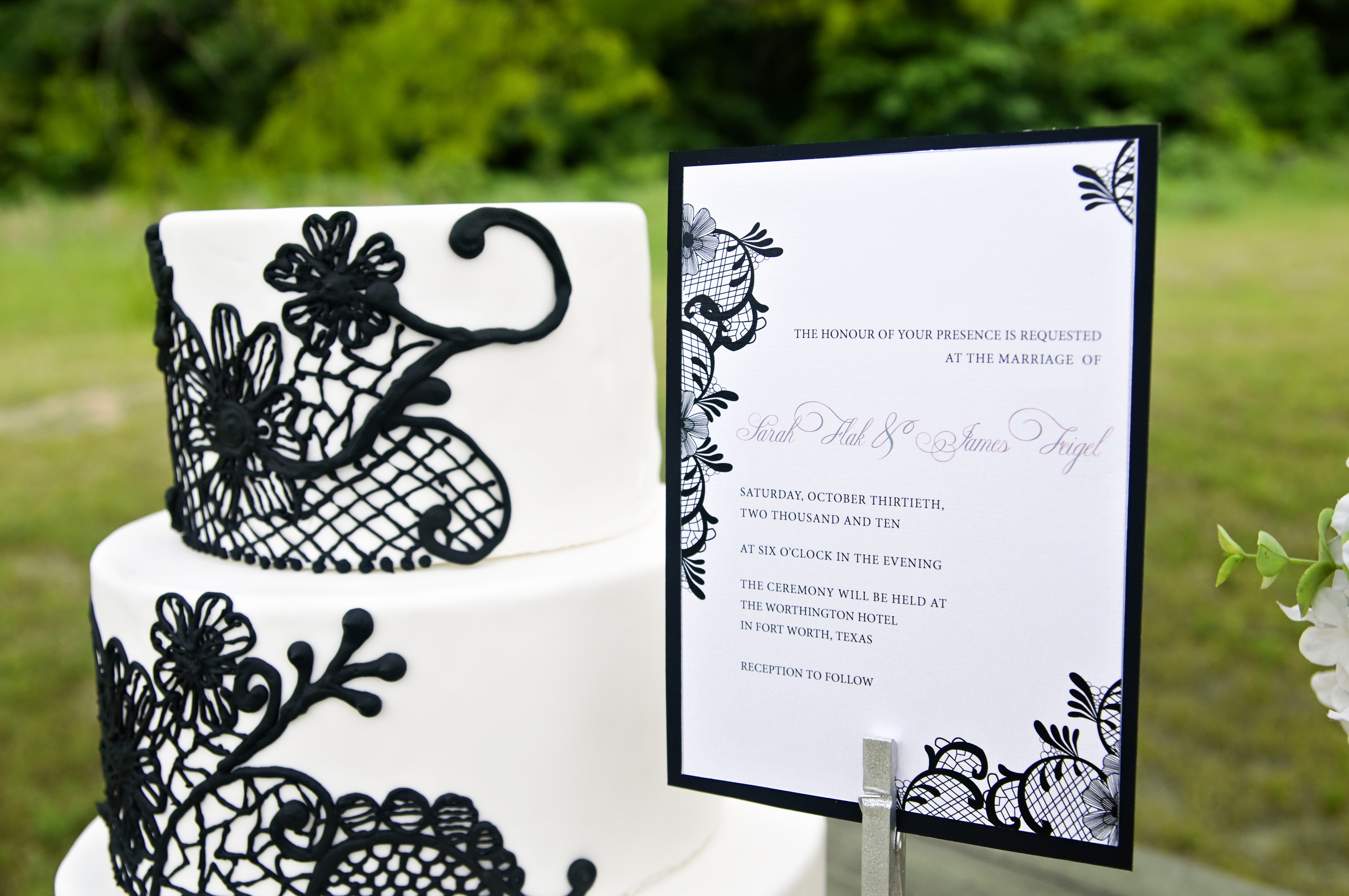 black white and lime green wedding invitations - Picture Ideas ...