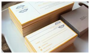 yellow gray wedding statinoery, dallas wedding stationery, fort worth wedding stationer