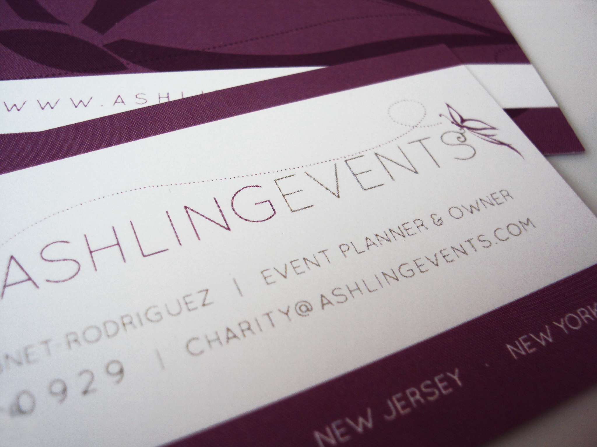 New York Wedding Planner gets a Brand Identity - Doodle Dog Creative