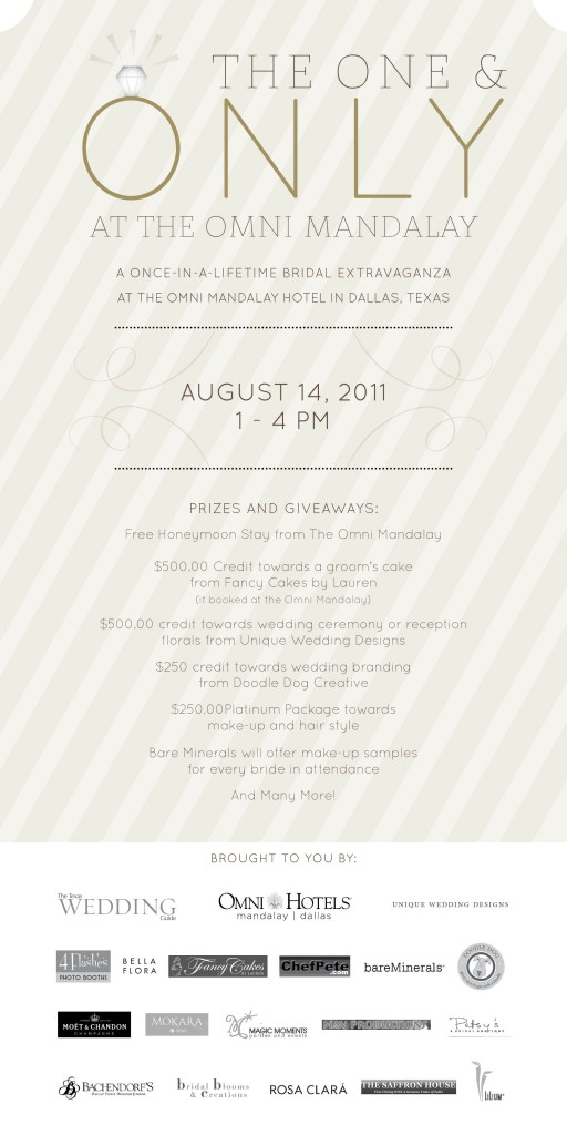 """One and Only Dallas Wedding Event"""