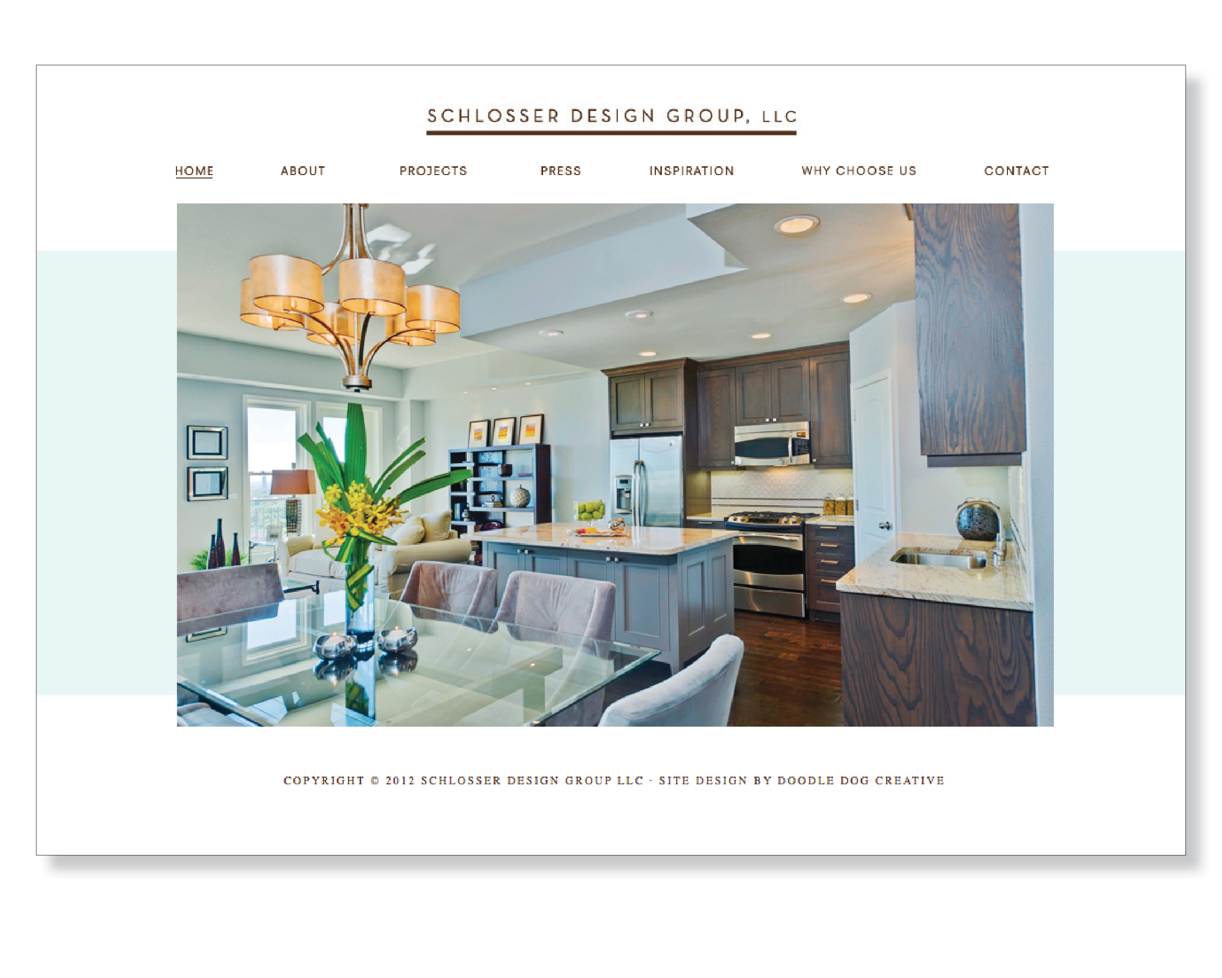 Interior Designer Website Dallas