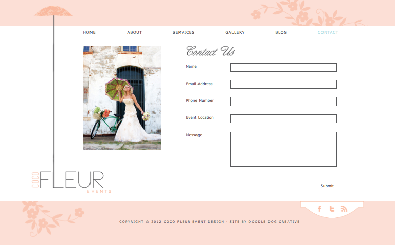 wedding website, whimsy, whimsical