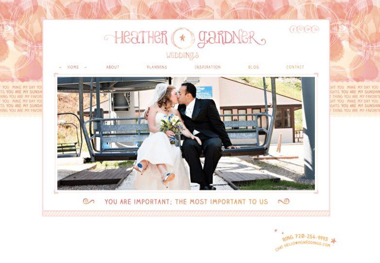 Heather gardner 39 s new brand identity and website doodle for Gardner website