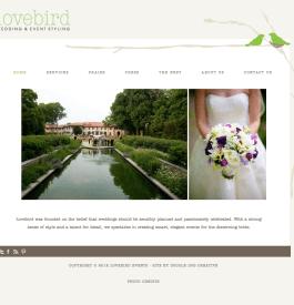 wedding planner website, chicago wedding planner, wordpress website designer, custom site design, portfolio site, organic site design