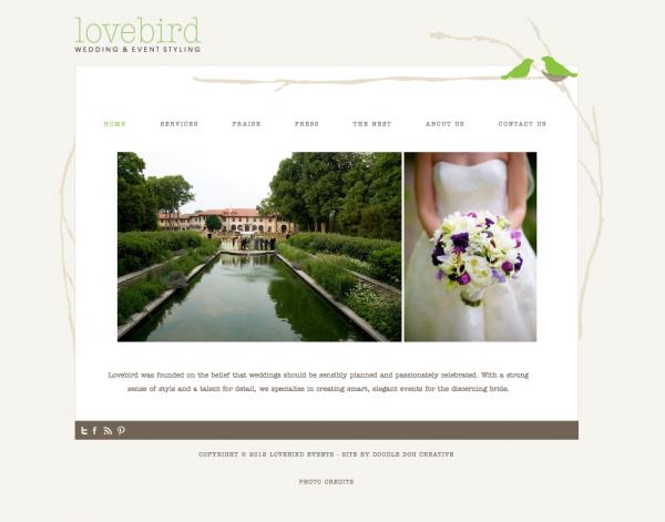 wedding planner website chicago wedding planner wordpress website designer custom site design