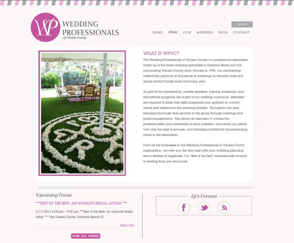 Web design, website design, website projects, wedding branding, wedding business branding, wedding industry, blog design, brand identity, branding projects, doodle dog designs, doodle dog web designs, logo, blog design for wedding pro,