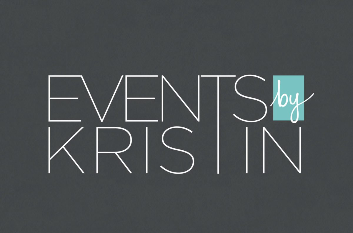 Events by Kristin's stylish new brand identity and site! - Doodle ...