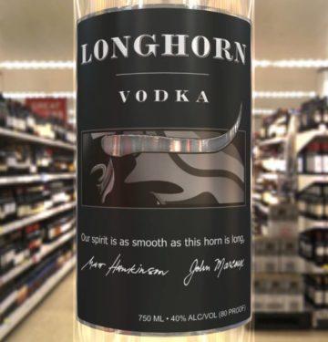 Longhorn Vodka