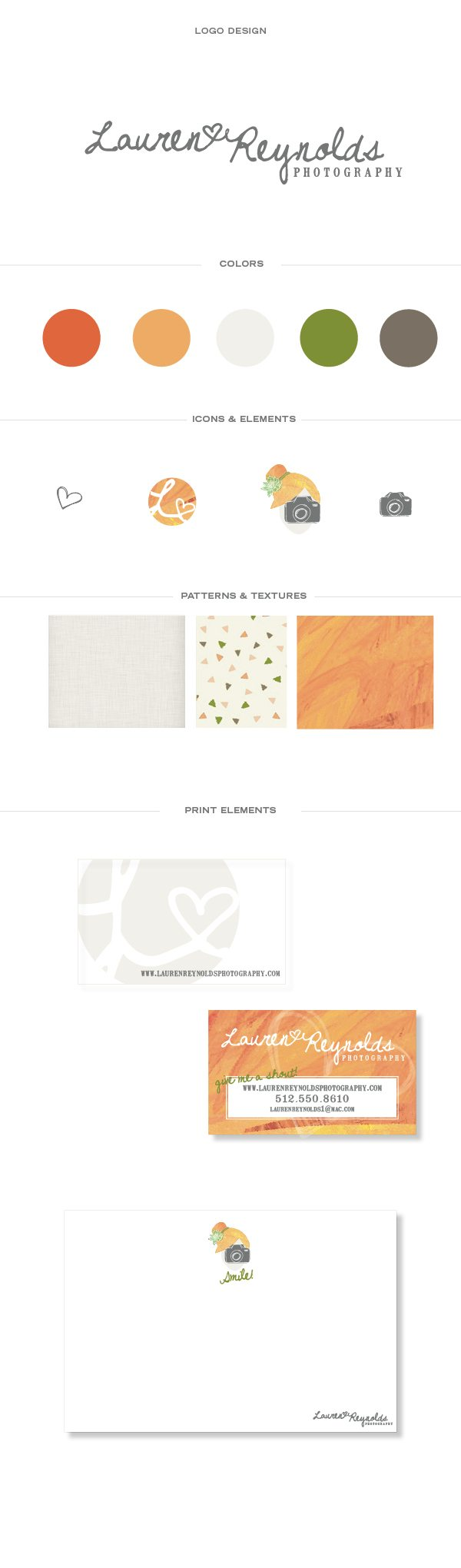 austin, texas, branding agency, handcrafted brand, friendly brand, custom identity, photographer brand identity