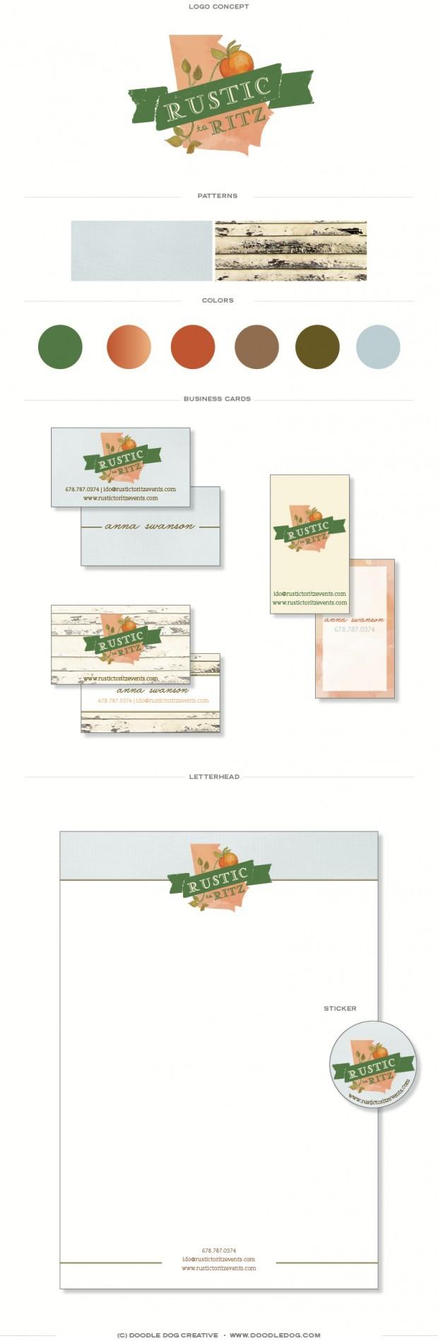 wedding planner branding, logo design for wedding planner, rustic brand identity, southern brand identity, graphic designer