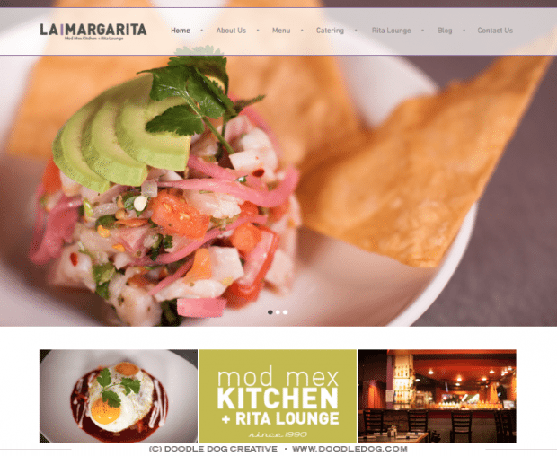Check Out Our Custom Creations Responsive Website Design For Restaurant Mexican Food