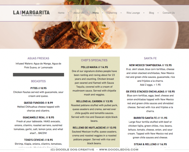 creative, classy, professional responsive_website_design_for_restaurant