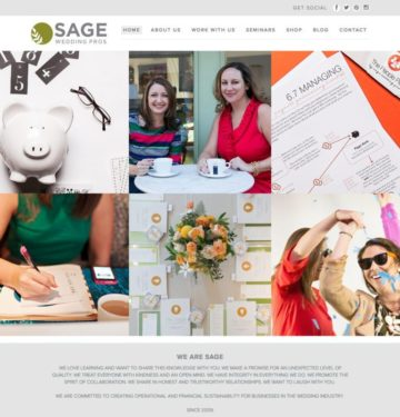 Sage Wedding Pros Home
