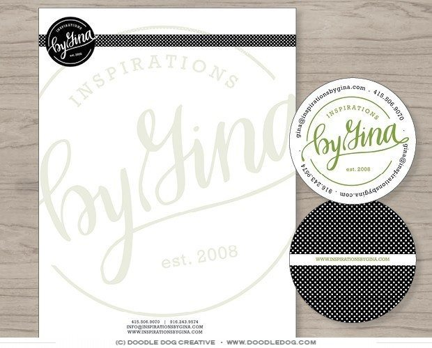 wedding planner brand collateral