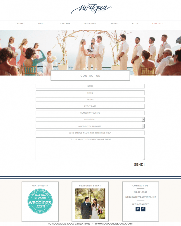 graphic design for wedding pro