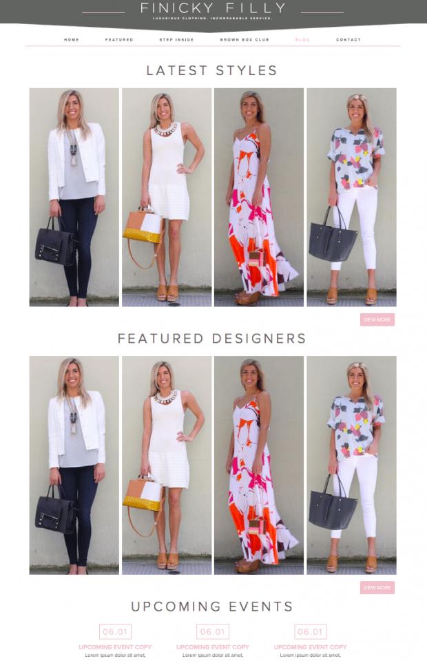 luxury womans brand design