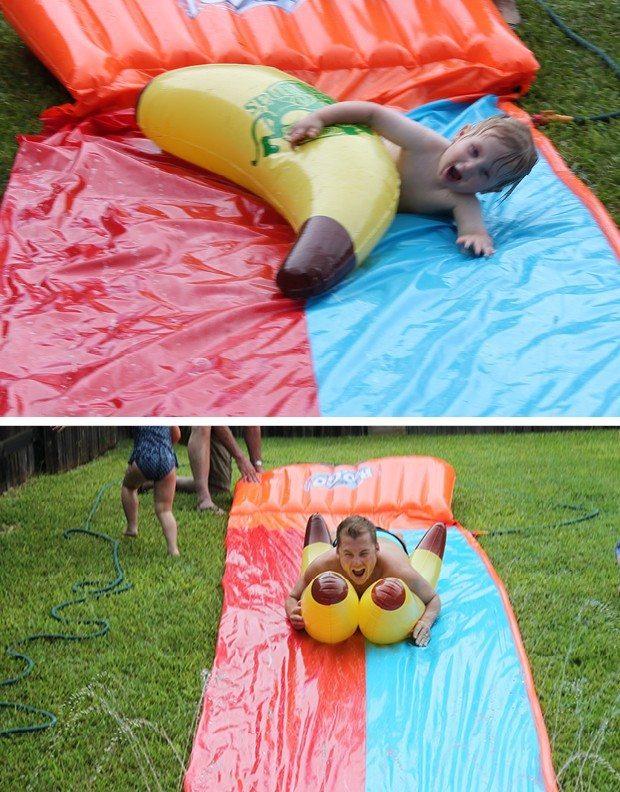 banana themed birthday party, second birthday
