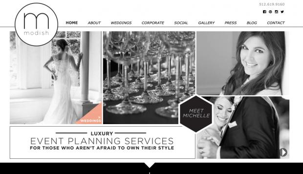 event planner website design - pacq.co