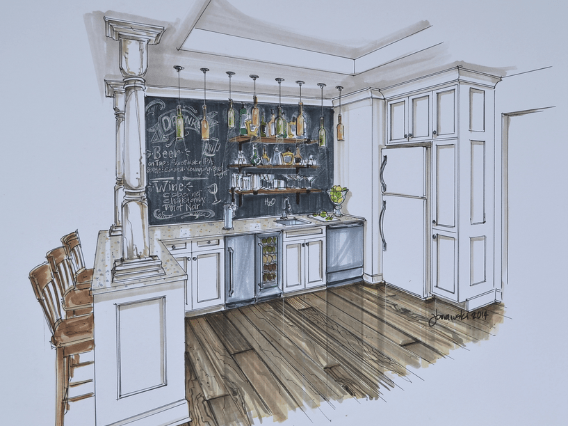interior designer renderings