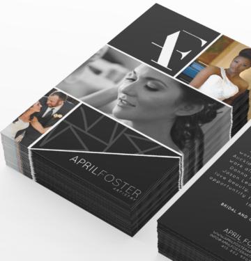 marketing material for make up artist