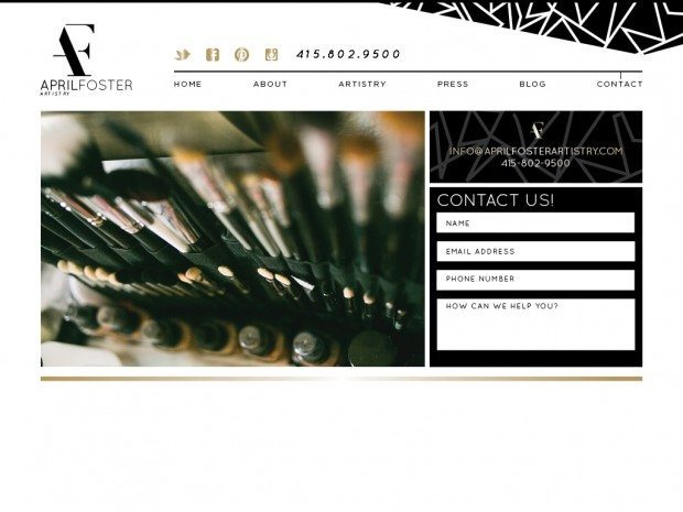 modern, sleek, black and white, custom wordpress website