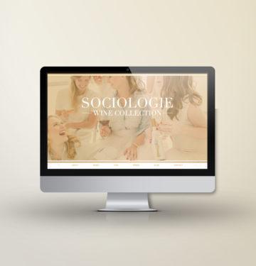 feminine website design