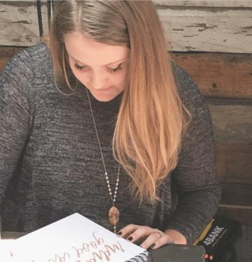 Sarah Campbell, Doodle Dog Creative | Web Design + Hand Lettering