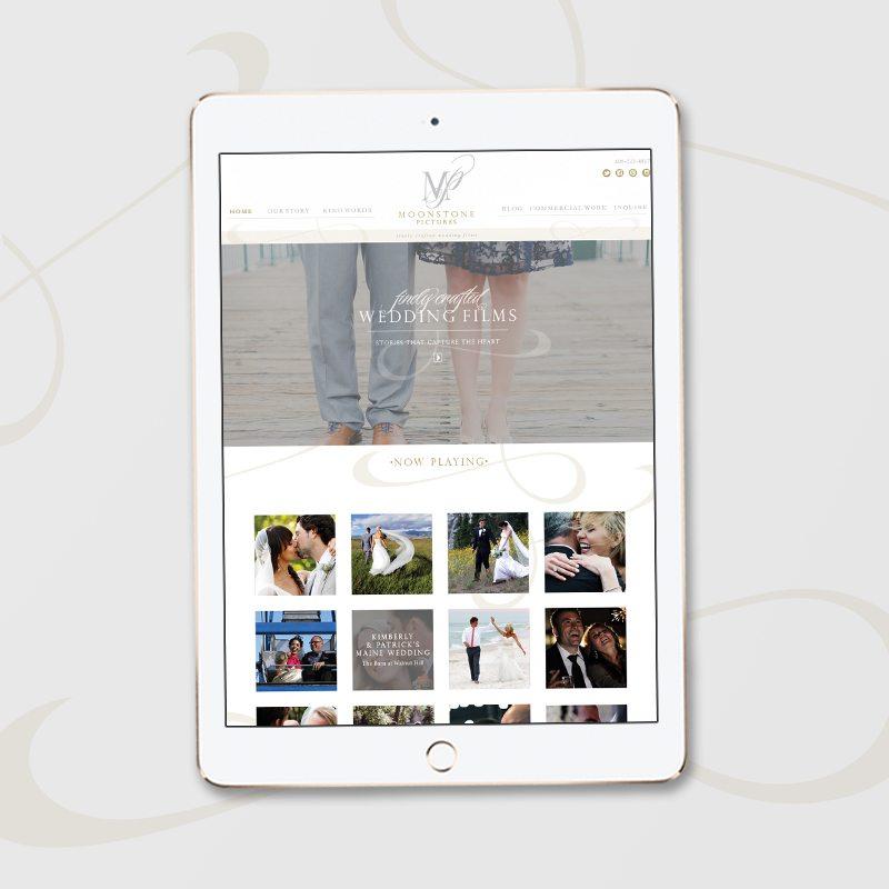 Videographer web design