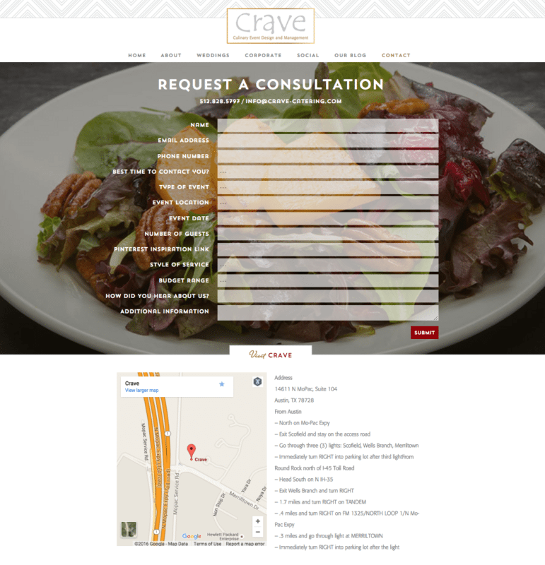 catering-company-austin-website