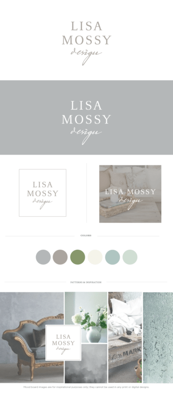 Custom Interior Designer Website | Lisa Mossy Design