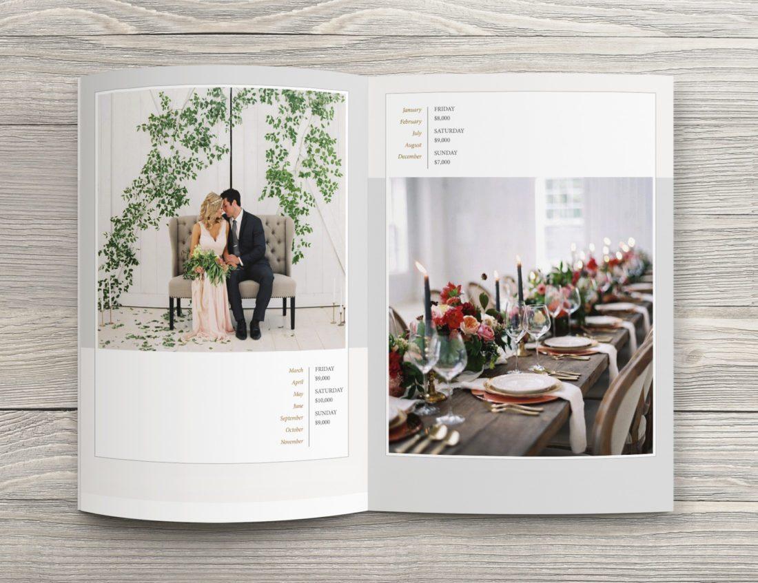 Dallas Branding Design | Media Kit for The White Sparrow Barn