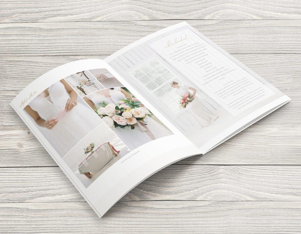 Dallas Branding Design   Media Kit for The White Sparrow Barn