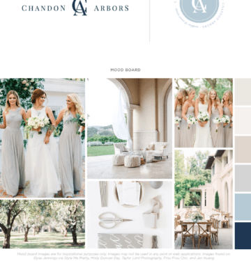 DFW Brand and Website | Chandon Arbors by Doodle Dog