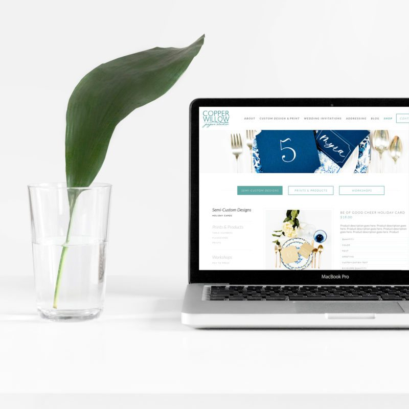 Small Business ECommerce Development | Copper Willow Website