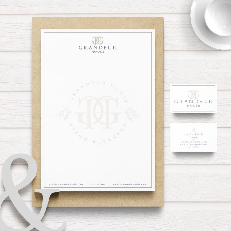 Dallas wedding venue stationary