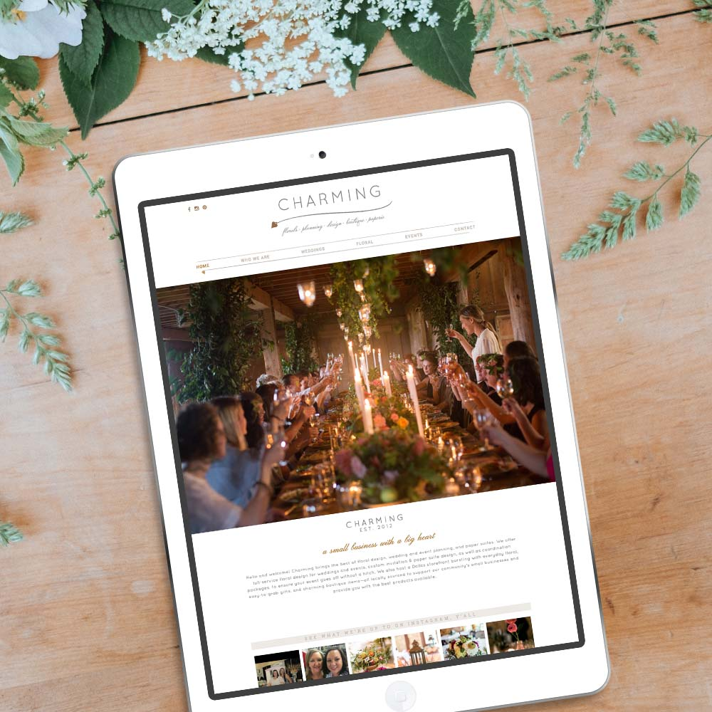 website designs for florists