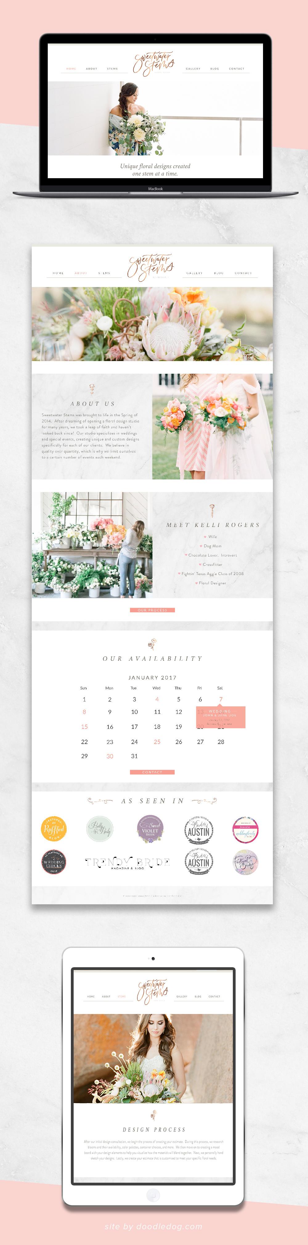 website design for florist