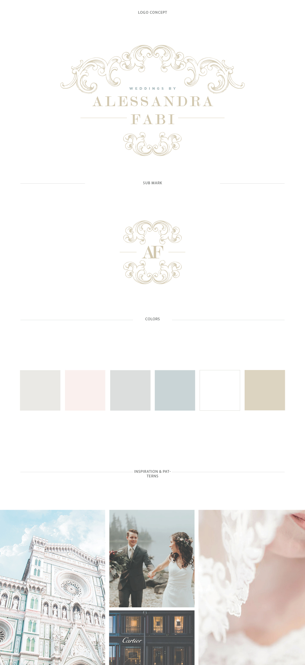 Italian Wedding Planner Web Design