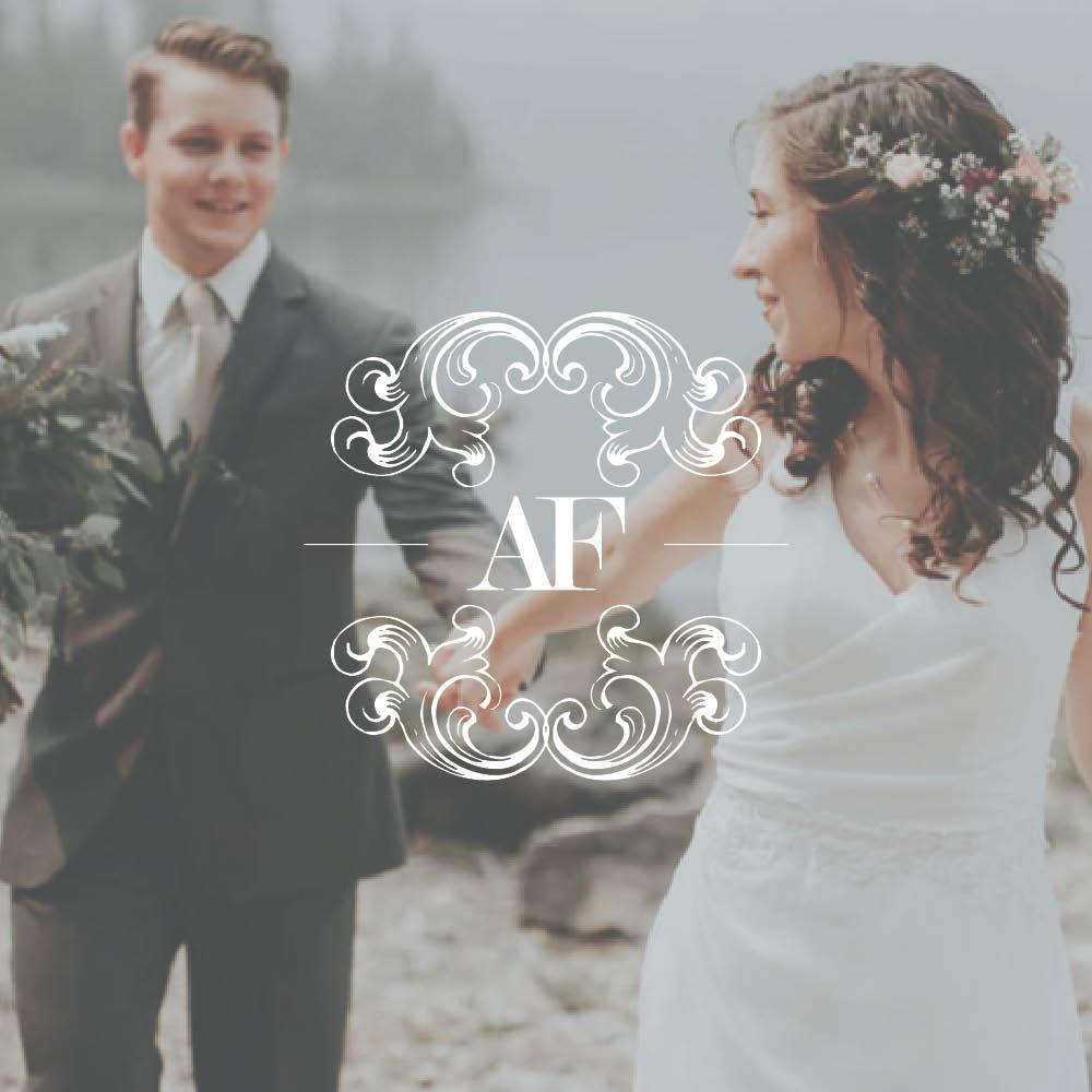 Italian Wedding Planner Brand Design
