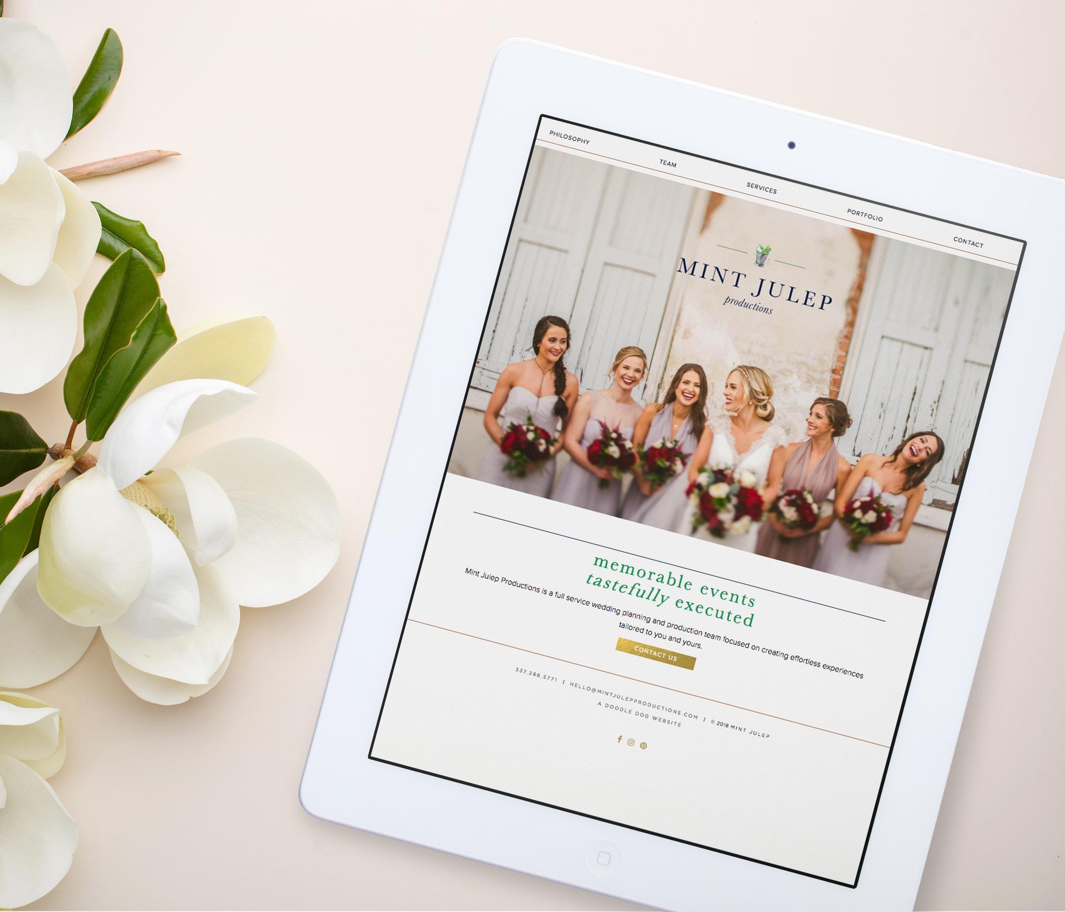 Wedding Planner WordPress Website Design