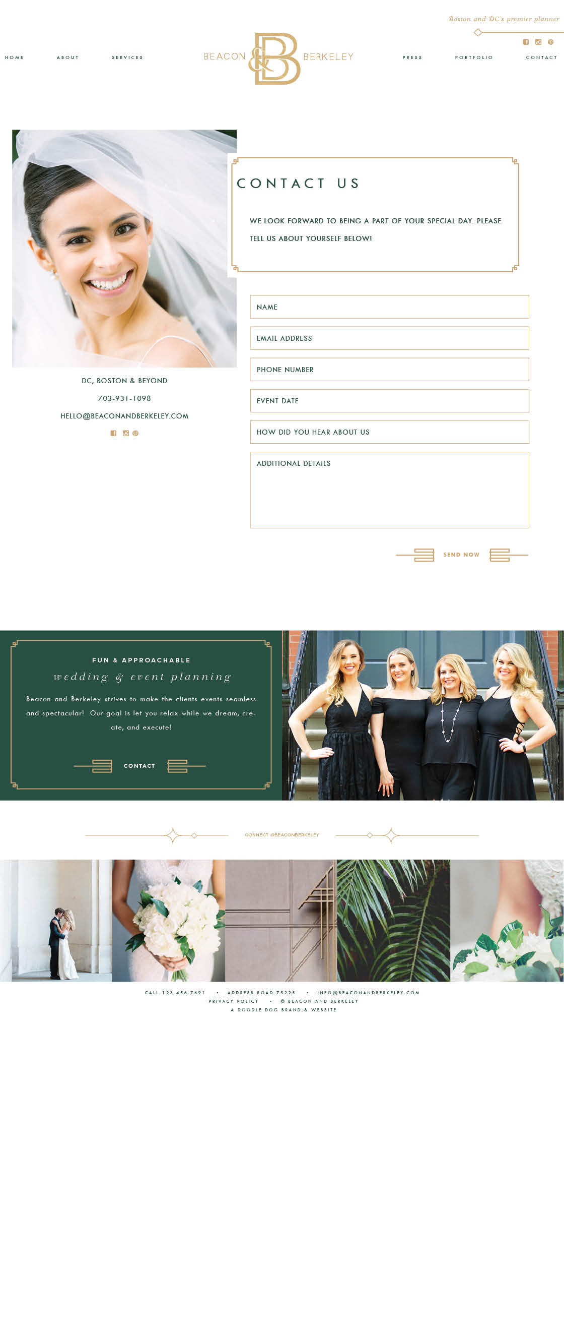 Event Planner Brand Design