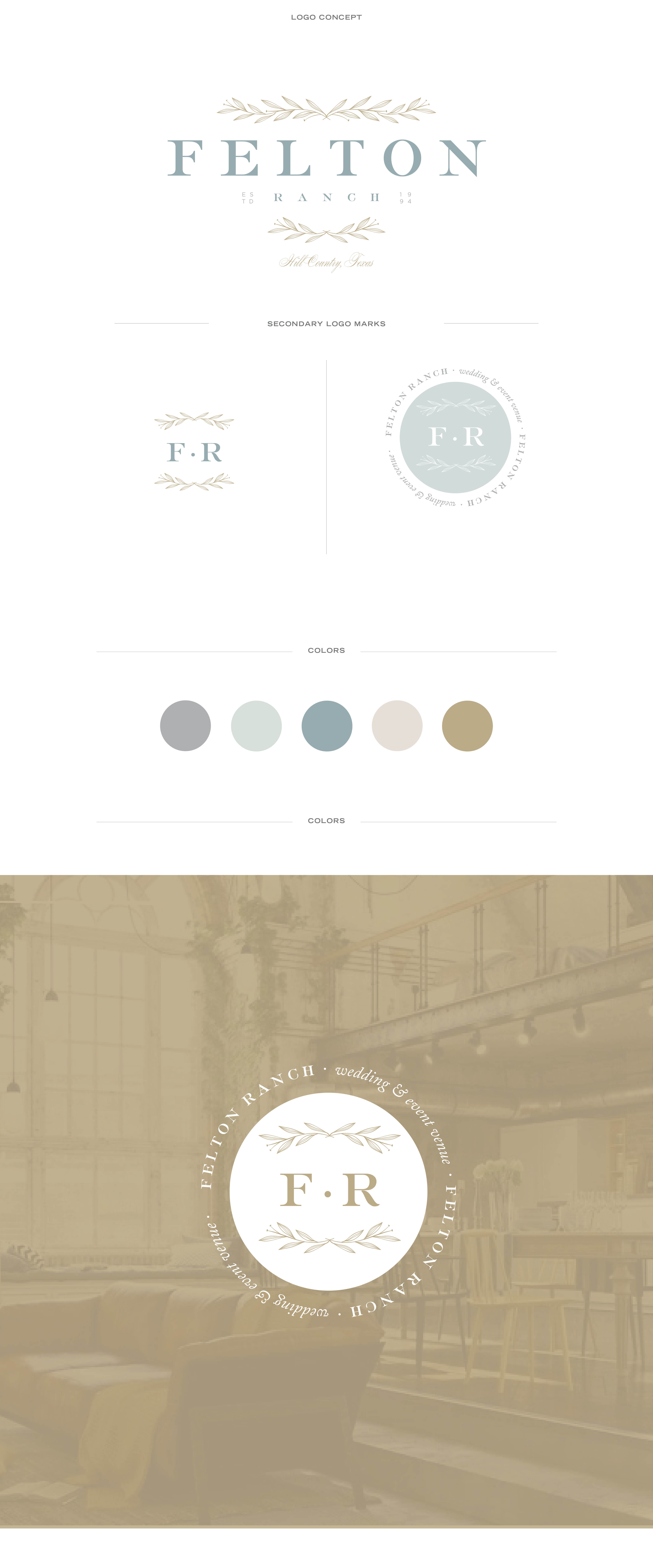 wedding venue brand design