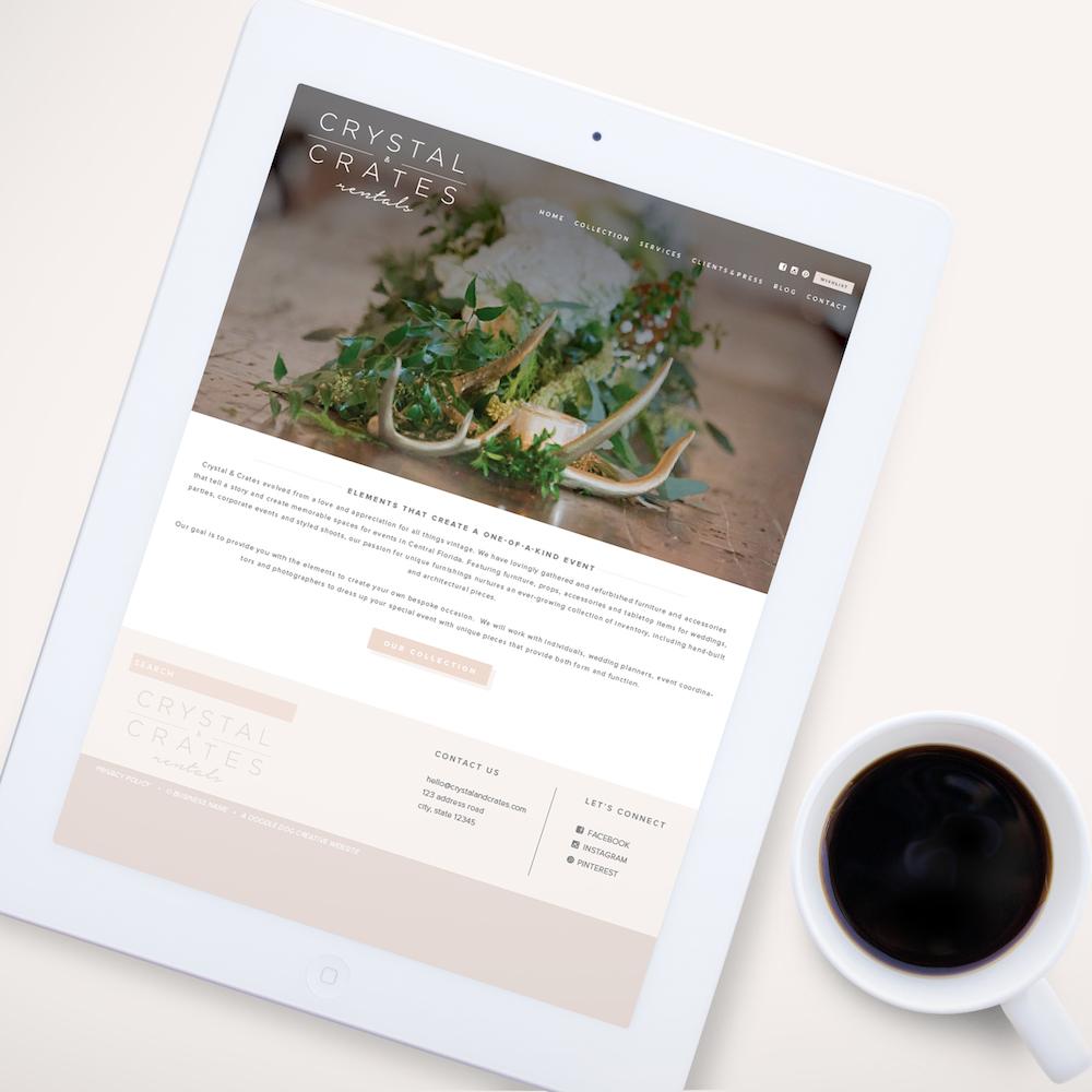 Event Rentals Company Website