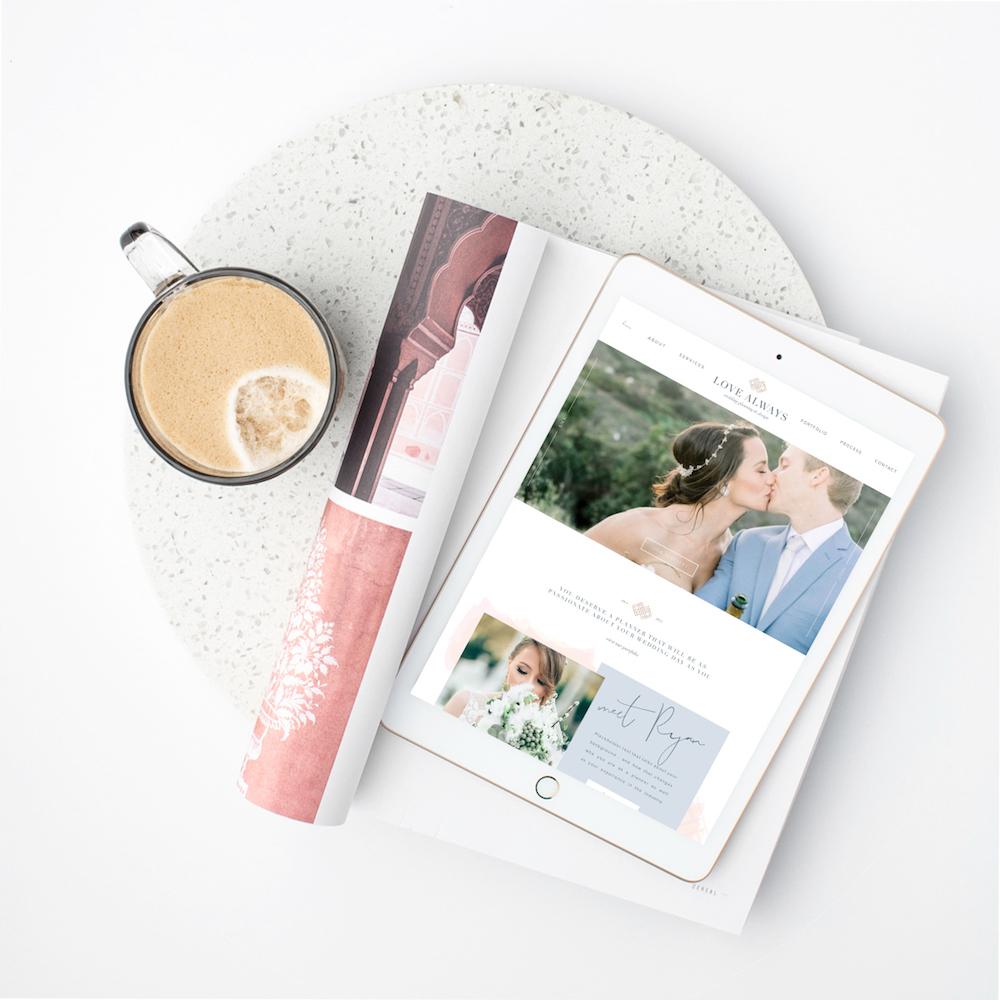 wedding planner brand identity