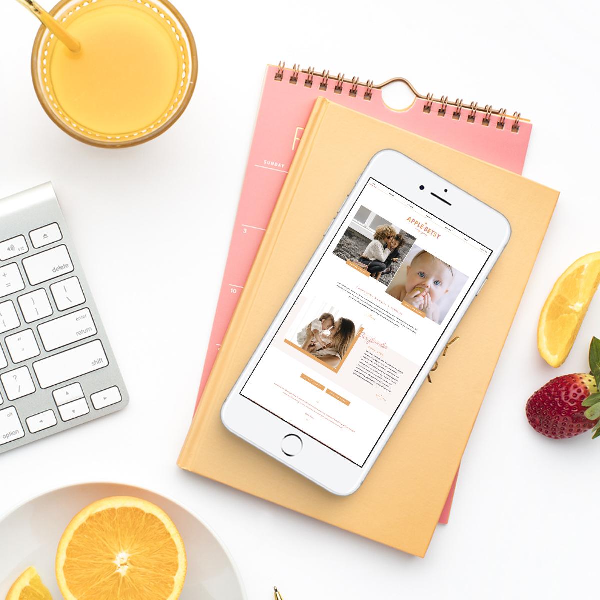 Nanny Agency Website Design