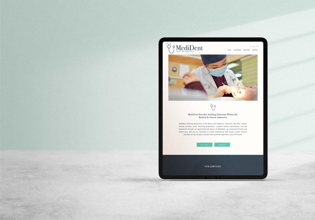 Online Recruiting Firm Website Design
